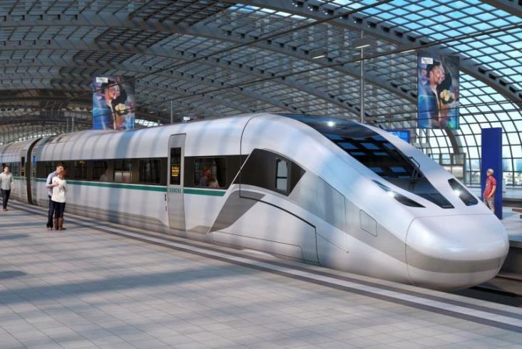 Siemens zapowiada nowy pociąg dużych prędkości. Powstanie Velaro Novo