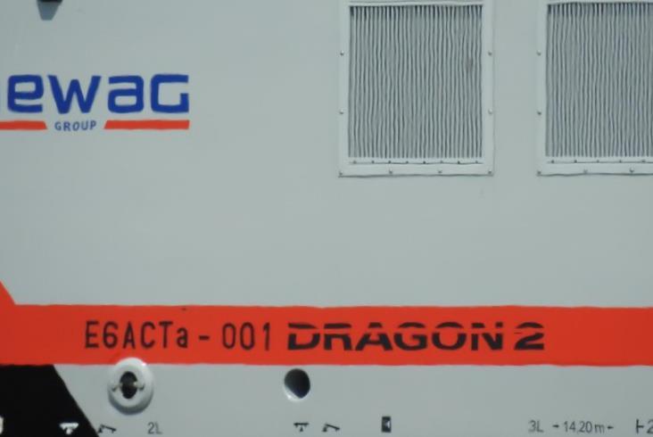 Dragon 2 już na testach w Żmigrodzie [zdjęcia]