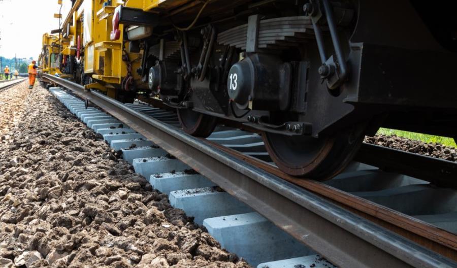 Trwają prace na odcinku ze Skarżyska-Kamiennej do Starachowic
