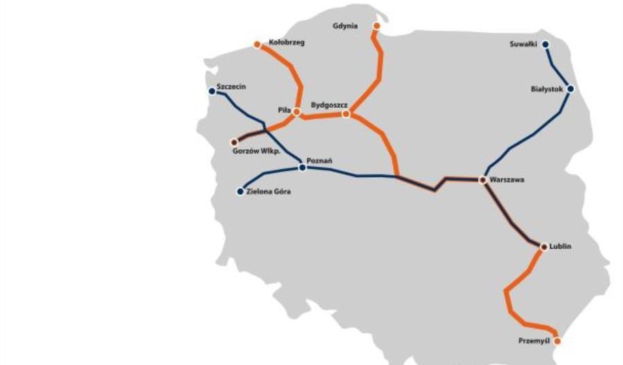 PKP Intercity z umową na dofinansowanie miliardowego projektu. Znamy trasy