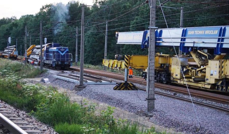 Rozpoczęła się budowa łącznicy z CMK od strony Kielc w Czarncy