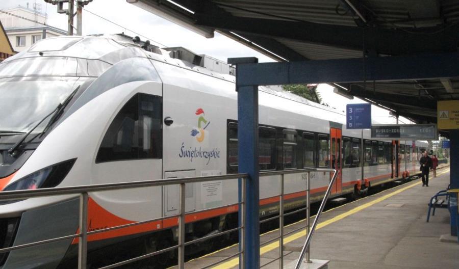 Po trzynastu latach pociągi wróciły do Buska-Zdroju. Na stałe?