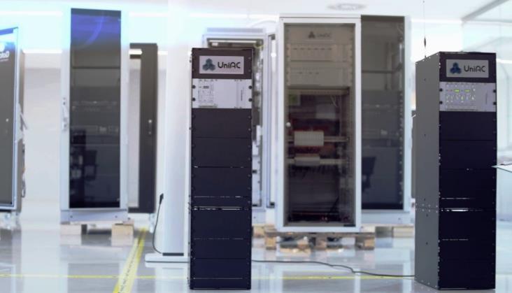 Licznik osi UniAC1 wykorzystywany w trakcie fazowania robót budowlanych