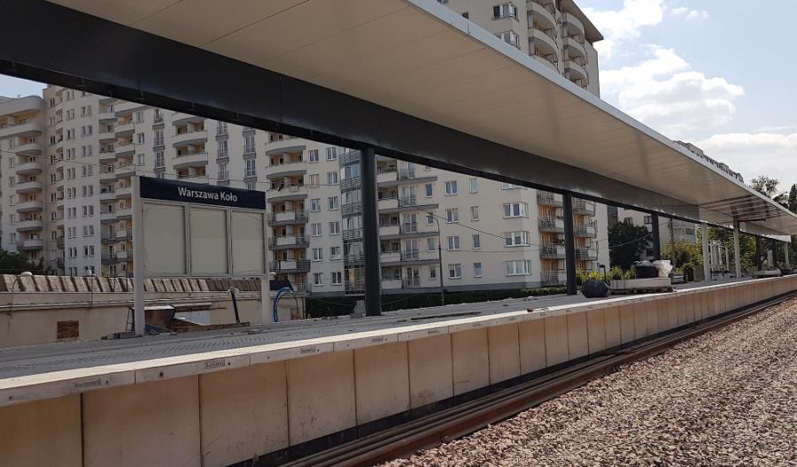 Przystanki Warszawa Koło i Parzniew nabierają kształtów [zdjęcia]