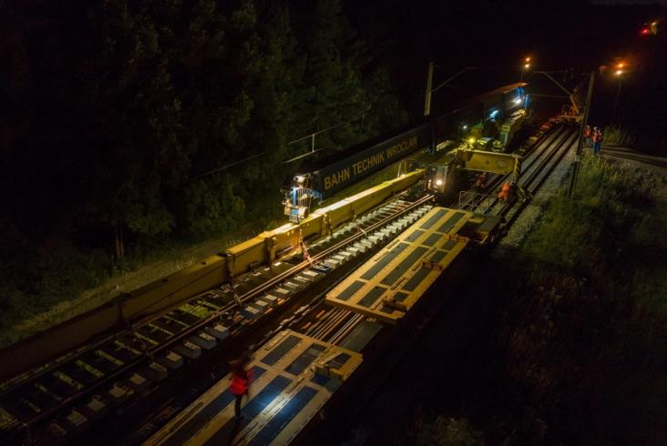 KZN na budowie łącznicy Czarnca – Włoszczowa Północ [zdjęcia]