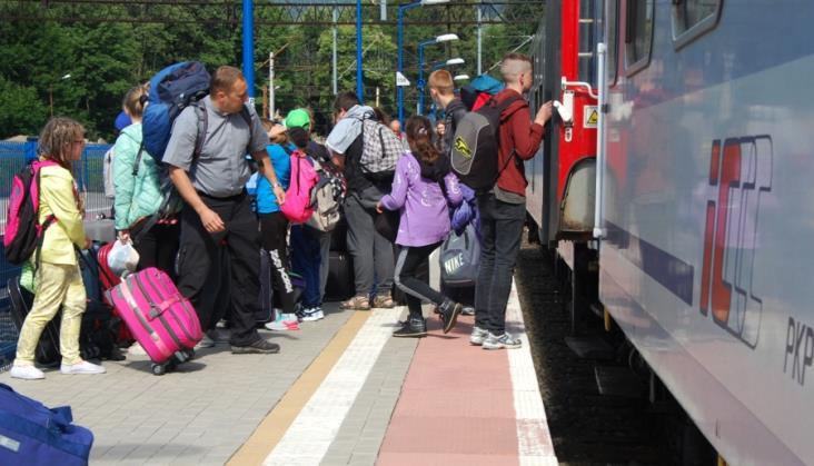 PKP Intercity może nie sprzedać biletu w wypadku przepełnienia pociągu
