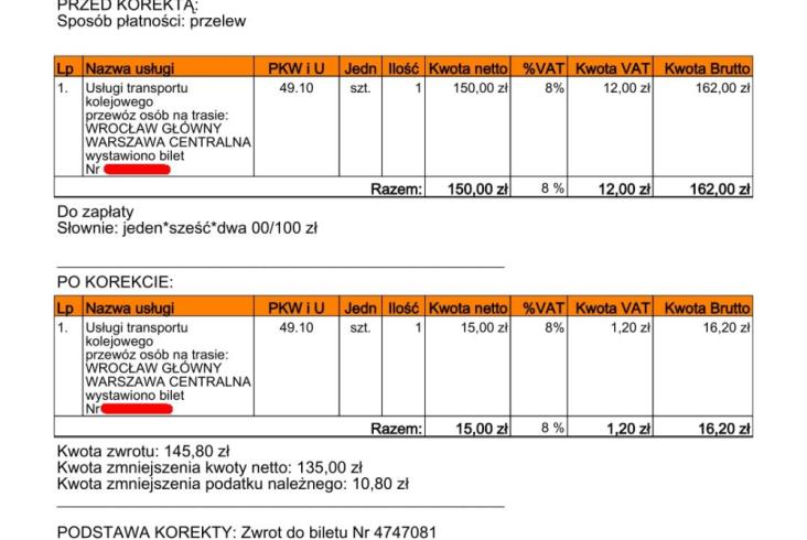 PKP IC rozesłało informację nt. faktur i naprawiło wysyłanie biletów e-mailem [aktualizacja]