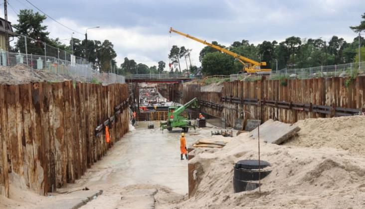 Prace na linii Warszawa – Lublin opóźnione, termin oddania zagrożony