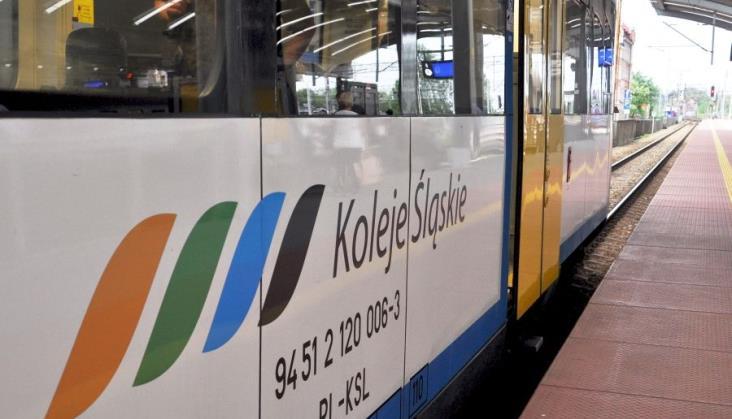 Śląskie: Pociągi czekały na przejazd kolarzy z Tour de Pologne