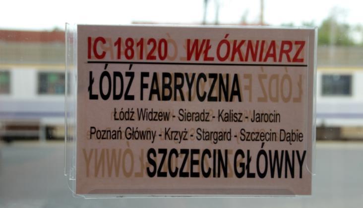 Łódź: Duże zmiany PKP Intercity na trasie do Poznania