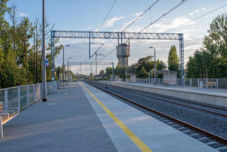 W Małaszewiczach pasażerowie korzystają już z nowych peronów
