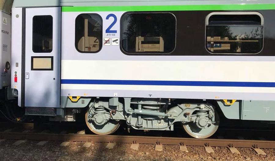 Pierwszy wagon 174A z FPS już na torach [zdjęcia]