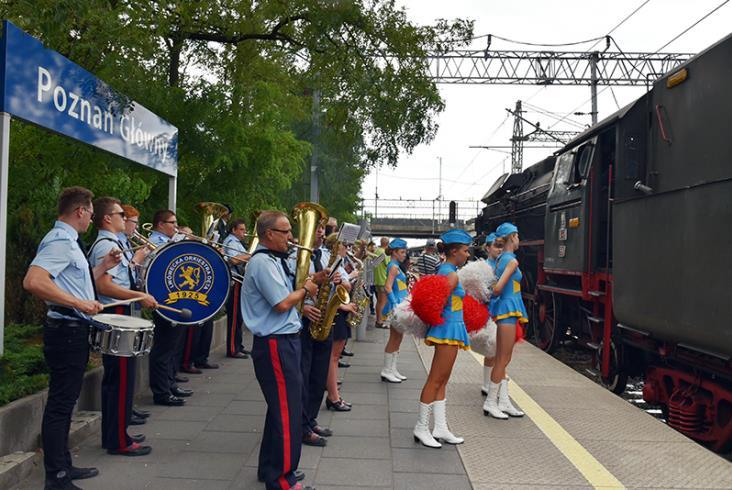 Zdjęcia z obchodów 170. rocznicy przyjazdu pierwszego pociągu do Poznania