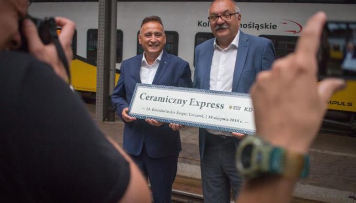 Ceramiczny Express – pociąg specjalny Kolei Dolnośląskich