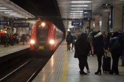 Najwięcej pasażerów w Polsce na Warszawie Śródmieście
