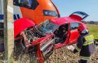 Śmiertelny wypadek na przejeździe podczas egzaminu na prawo jazdy