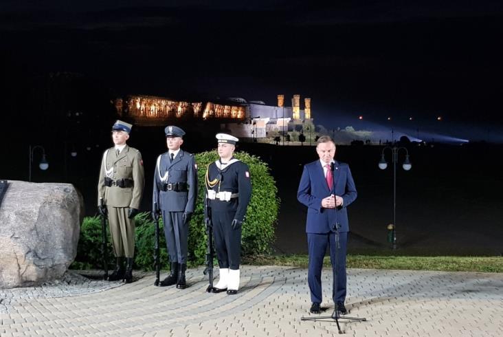Obchody wybuchu II wojny światowej w Tczewie i Szymankowie [zdjęcia]
