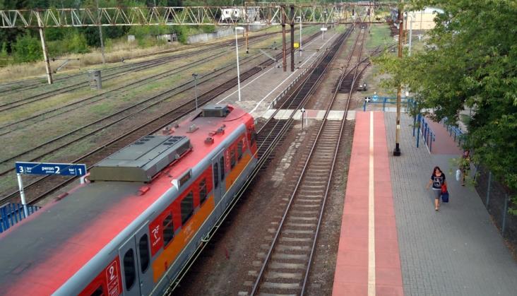 Roboty na stacji Hanulin. Pociąg TLK ominie Kępno