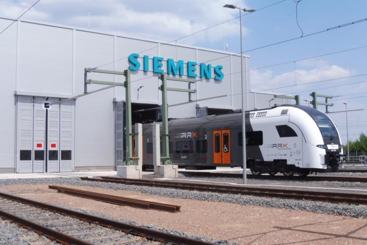 Siemens otwiera bazę dla pociagów RRX. Papierowej dokumentacji nie będzie