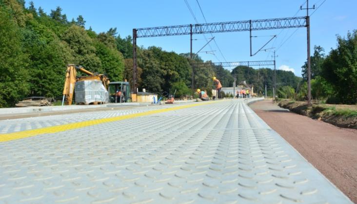 PLK wyremontuje perony w Morągu