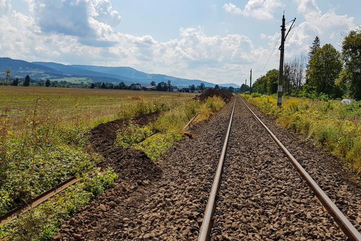 Trwa remont linii kolejowej Żywiec – Węgierska Górka [zdjęcia]