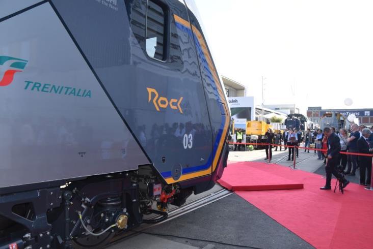 InnoTrans 2018. Piętrowy Rock dla Trenitalii od Hitachi Rail [zdjęcia]