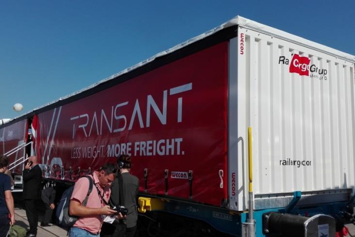 TransANT. Wagon towarowy jak mróweczka