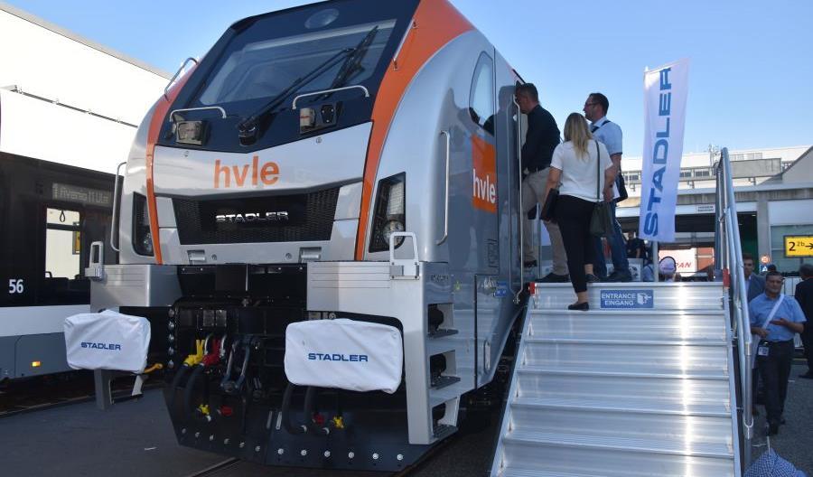InnoTrans 2018. Pierwsza dwunapędowa lokomotywa Eurodual przekazana HVLE