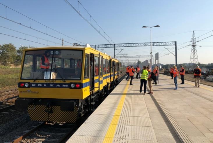 Od 24 września wraca ruch na linię grodziską. W Pruszkowie – jedna krawędź
