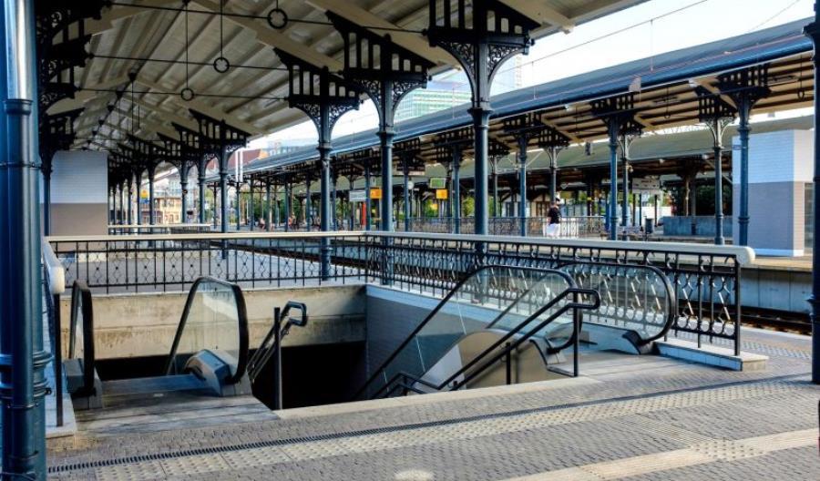 Gdańsk Główny – podróżni korzystają z przebudowanego peronu