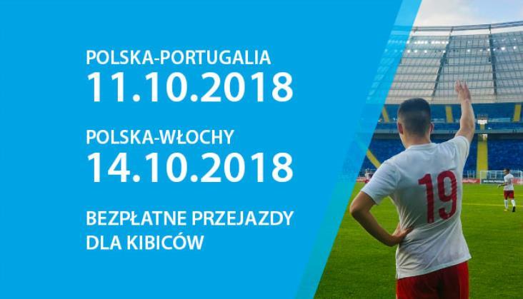 KŚ: Bezpłatne przejazdy dla kibiców na mecze reprezentacji Polski w piłce nożnej