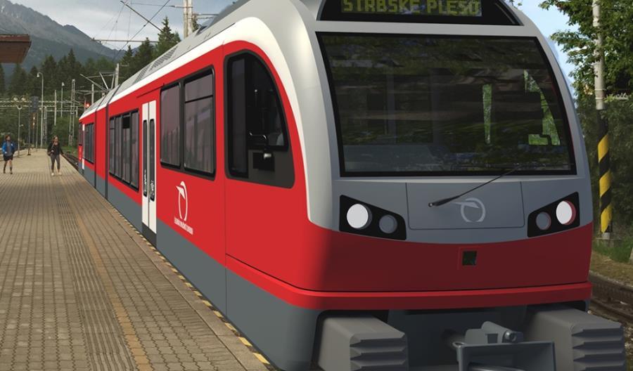 Stadler wyprodukuje wąskotorowe pojazdy pod słowackie Tatry