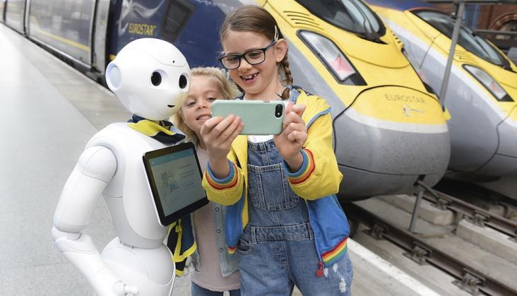 Na londyńskim dworcu St Pancras pracuje… robot