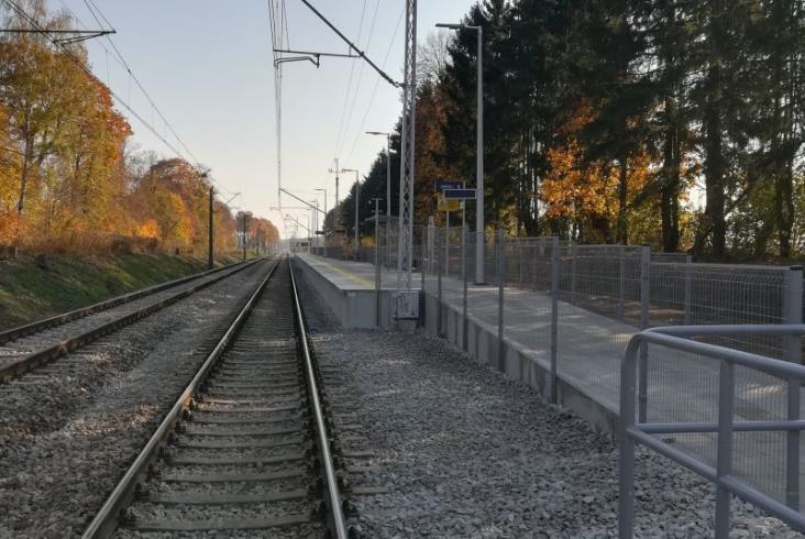 Nowe perony między Olsztynem a Iławą