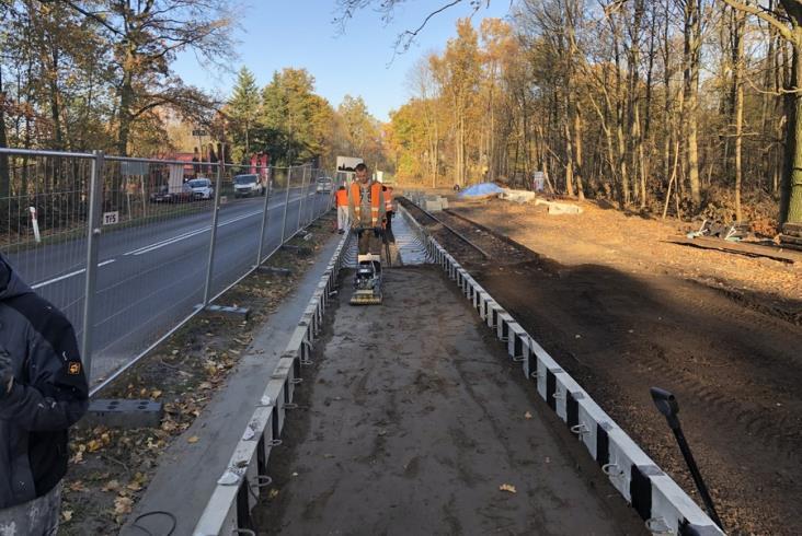 Koszalińscy wąskotorowcy rozbudowują gnieźnieńską kolejkę [zdjęcia]
