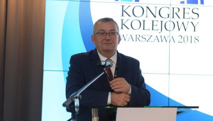 Minister Adamczyk otworzył Kongres Kolejowy