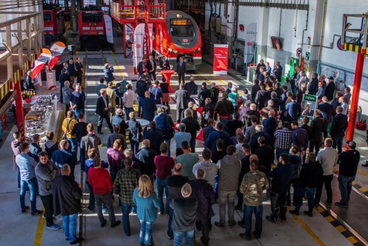 Deutsche Bahn oficjalnie zaprezentowało Linki Pesy w Dortmundzie [zdjęcia]