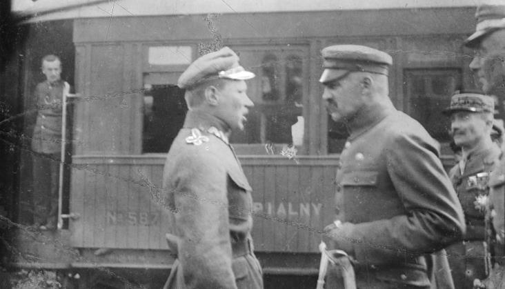 Polskie koleje u zarania II RP