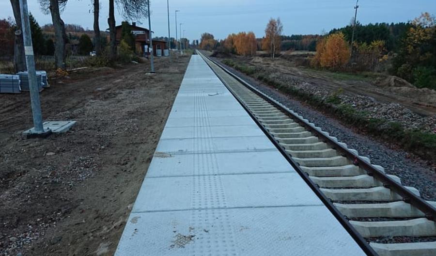 Pociągi ze Słupska do Miastka nie pojadą w grudniu. Inwestycja opóźniona [zdjęcia]