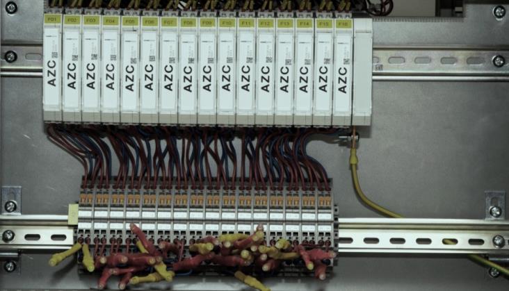 System liczenia osi UniAC1 zgodny z wymaganiami instrukcji Ie-120
