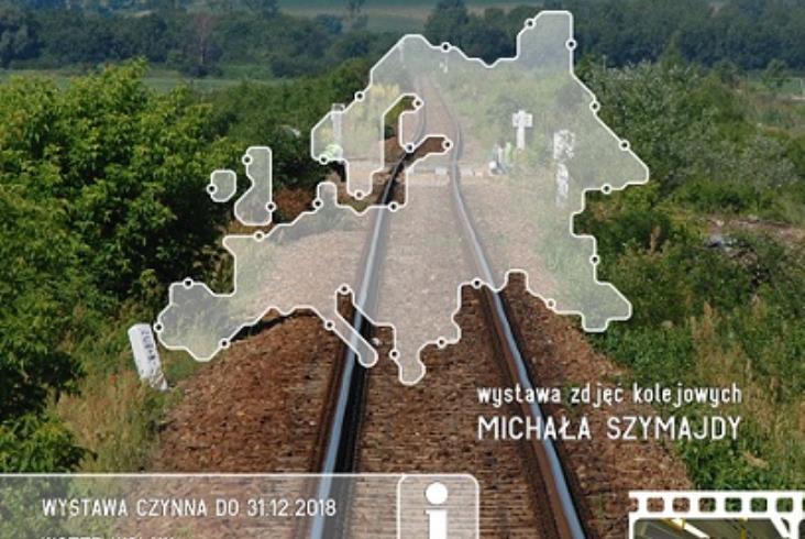 """Wystawa Michała Szymajdy """"Koleją przez Europę"""" na Stacji Kultura"""