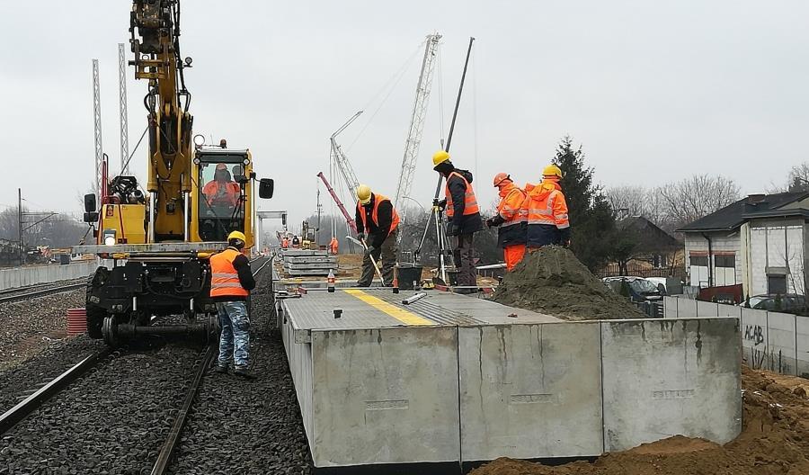 Powstaje przystanek kolejowy Rzeszów Zachodni [zdjęcia]