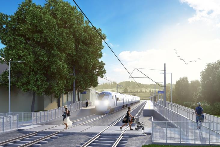 Nowy peron powstał w Jeleniej Górze