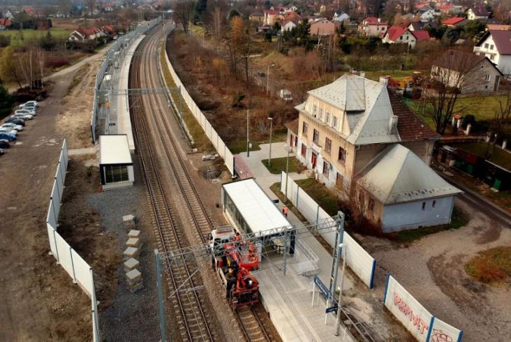 Trwają prace na linii E30 Kraków – Katowice