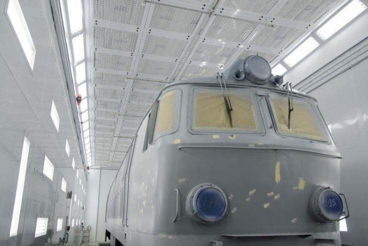 Tak PKP Cargo maluje pociągi
