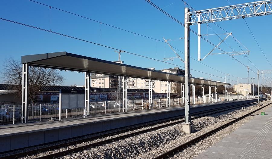W styczniu 2018 pojedziemy z nowych peronów w Otwocku