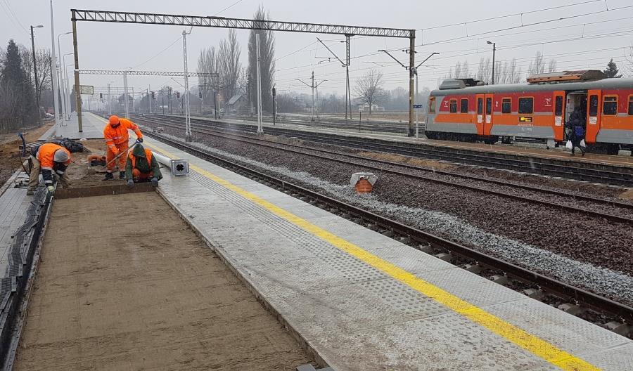Pierwsze efekty inwestycji między Zduńską Wolą a Łaskiem