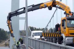 PLK trzeci raz próbuje kupić pojazd do inspekcji mostów. Jedna oferta