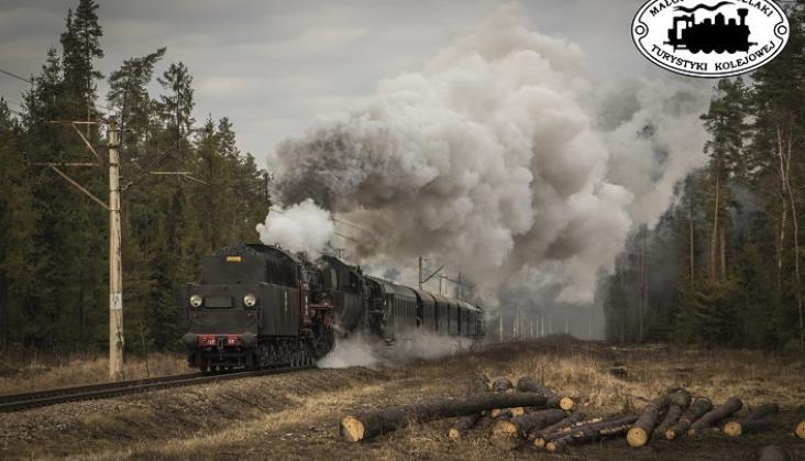 Czwarty sezon pod parą w Małopolsce. Pociąg retro znów przewiózł 10 tys. pasażerów