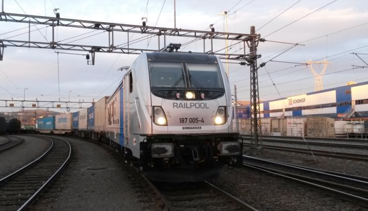 Bombardier sprzedaje 20 Traxxów 3 do Railpoolu